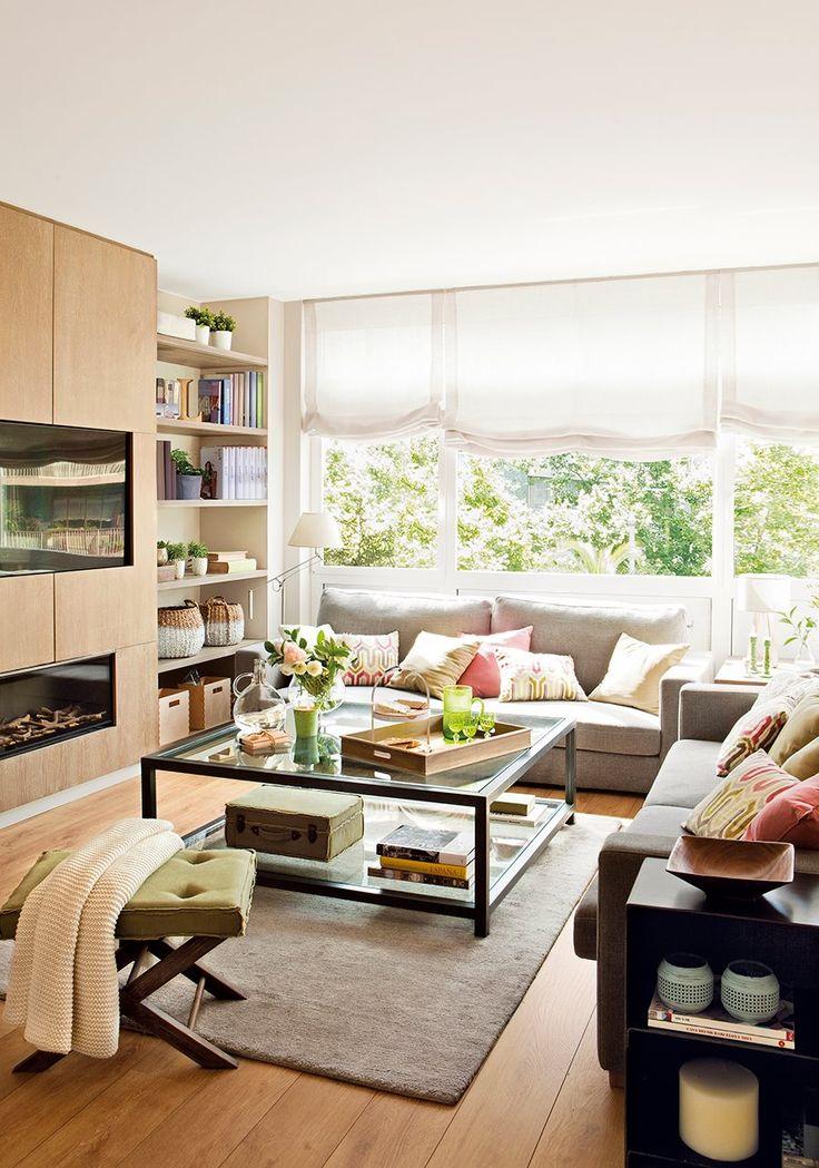 Una reforma luminosa mesa de hierro hierro y sof for Sofa exterior hierro