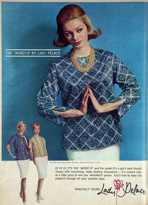 The 'jacket-o' by Pelaco, 1962