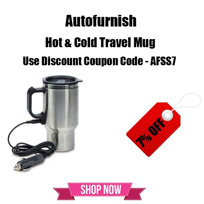The Great #Summer #Automotive #Sale Get 7% OFF on Hot & Cold Travel Mug #Autofurnish Shop Now @ http://bit.ly/1QSBNlX