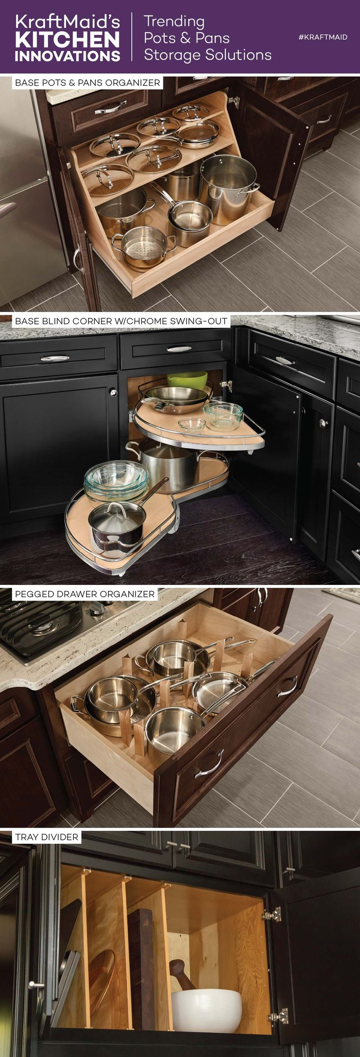 organize a small kitchen 9 best kraftmaid 174 kitchen innovations images on 3776