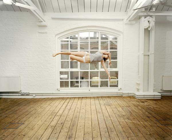Sam Taylor-Wood - Gracefully Suspended (10 photos) - My Modern Metropolis