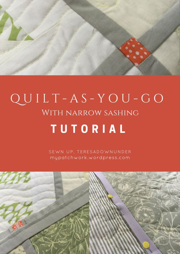 Quilt-as-you-go (QYAG) tutorial