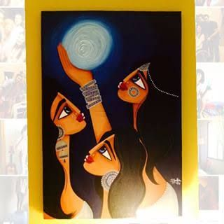 muniba mazari paintings - Google Search