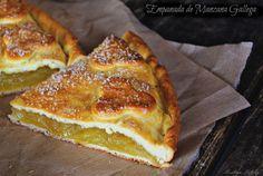 O cómo preparar una 'empanada' de manzanas. Receta del blog RECETAS DE UNA GATITA ENAMORADA.