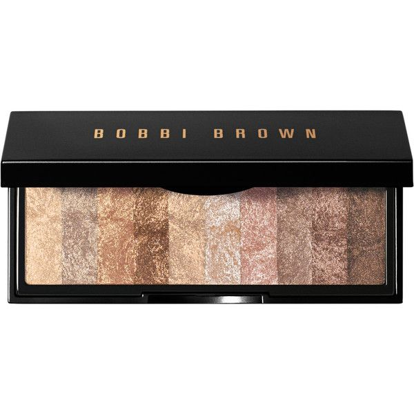 Bobbi Brown Shimmer Brick Eye Palette ($48) ❤ liked on Polyvore featuring beauty products, makeup, eye makeup, eyeshadow, beauty, eyes, cosmetics, fillers, bobbi brown cosmetics and palette eyeshadow