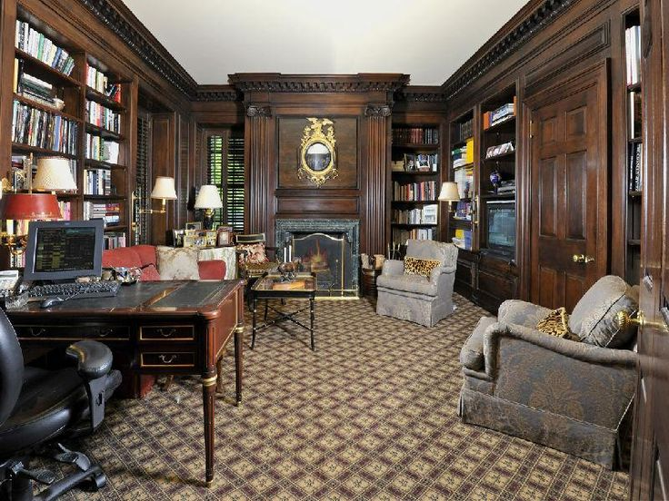 home library design pictures | ... Gothic, and Victorian Interior ...