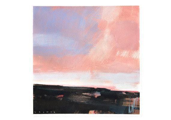 Original 'Dusk Approaching' by Simon Palmer