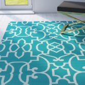 Found it at Joss & Main - Ashley Blue Indoor/Outdoor Area Rug