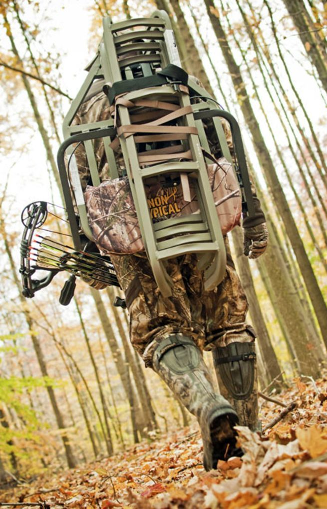 Most deer hunters understand that as Indian summer transitions into cooler, shorter days, a whitetail buck's attention shifts from feeding to breeding. Food still plays a role, mostly because that's where the does will be, as does growing hunter pressure and even changing weather patterns. Despite this, I'm amazed at the hunters who attach a ladder stand to a tree and leave it in the same spot year-in and year-out, hunting it from the first hot day of September or October right th...