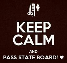 Do work!!! Fingers crossed... #cosmetology #hair #state board