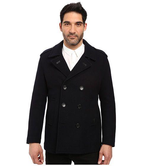 COACH Wool Peacoat. #coach #cloth #coats & outerwear