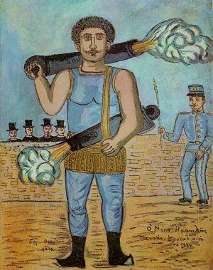 Ο Παναγης Κουταλιανος, Θεόφιλος Κεφαλάς - Χατζημιχαήλ | Καμβάς, αφίσα, κορνίζα, λαδοτυπία, πίνακες ζωγραφικής | Artivity.gr