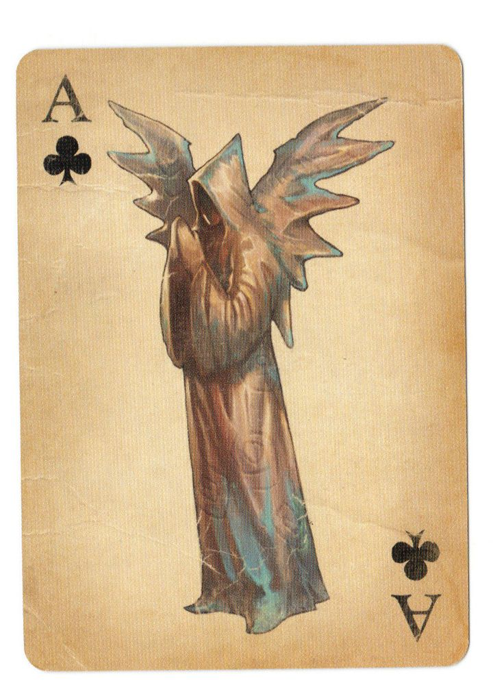 Fable Cards: Ace of Clubs - poker playing cards, deck of cards, card deck, unique playing cards, art of play cards, design play cards, cool playing cards, cardistry, jugando a las cartas, karty do gry, игральные карты, карты