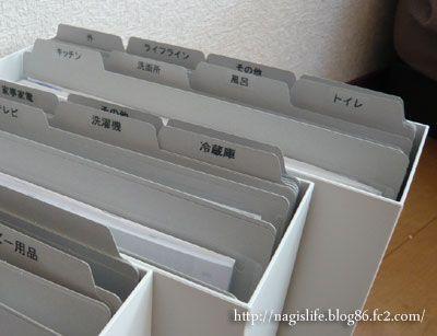 取扱説明書の整理収納~実践編~|nagi's LIFE LOG