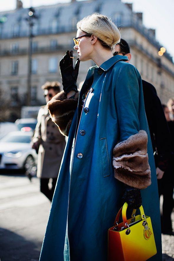 Bag lust!    On the Street….Just Off rue du Rivoli, Paris - The Sartorialist
