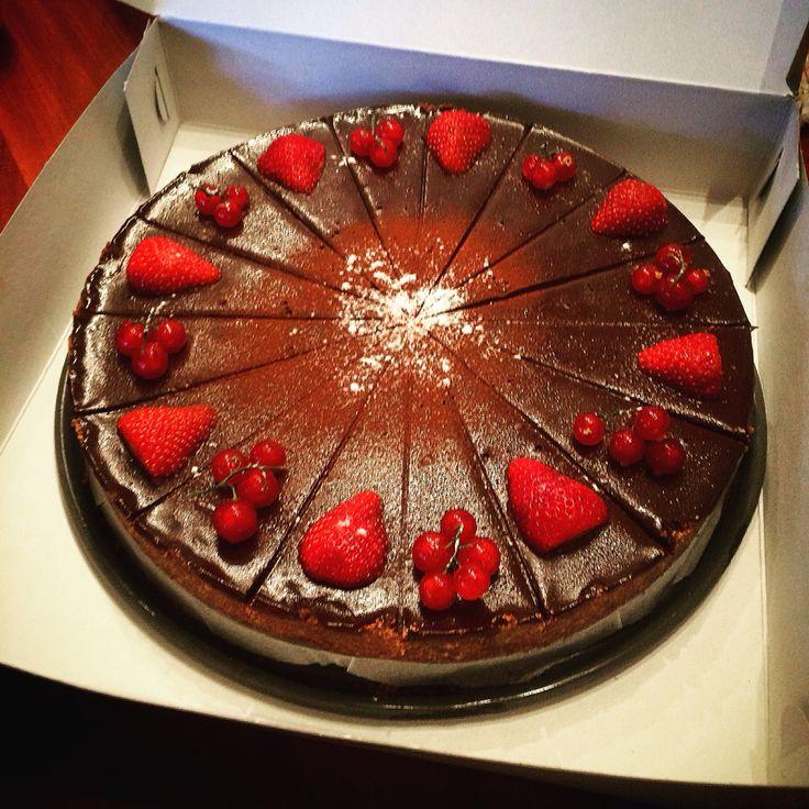 Chocolate caramel tart.!!