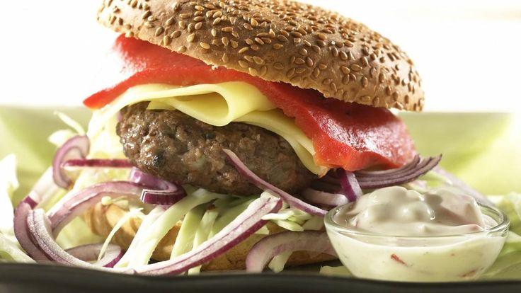 Oppskrift på Hjemmelaget burger