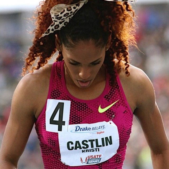Overcome Your Hurdles | Kristi Castlin #track #running