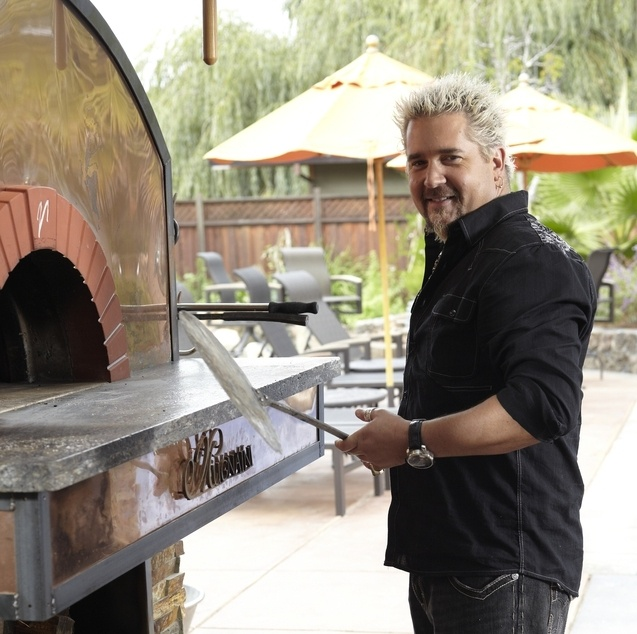 Guy 39 S Big Bite Pizza Oven Outdoor Kitchen Plans Pinterest