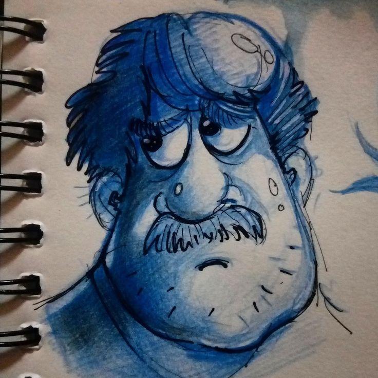 character sketches, jishnu k on ArtStation at https://www.artstation.com/artwork/BDOyr