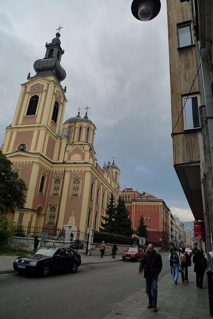 Orthodox church in Sarajevo