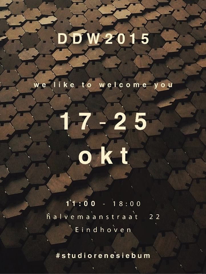 Studio Rene Siebum creates interactional design, become part of the experience at Dutch Design Week 2015 #TheWayofLiving24 #TWOL24