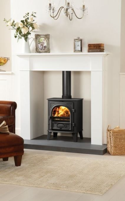 46 Ideas For Wood Burning Stove Fireplace Surround Mantles
