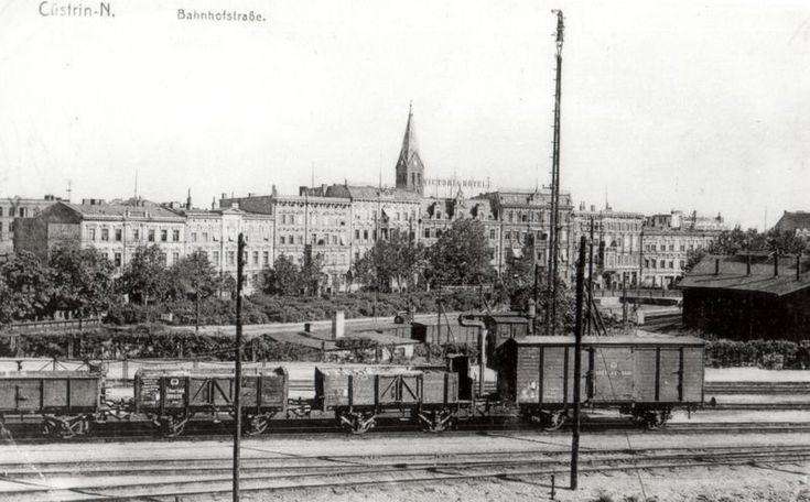Küstrin - Historische Fotos der Stadt Küstrin - SPEZIAL: Eisenbahnknotenpunkt Küstrin