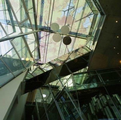 Akademie der Künste in Berlin - Glas - Kultur - baunetzwissen.de