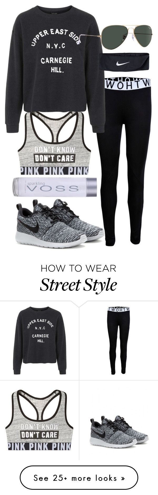 """she's fit"" by sheryl798 on Polyvore featuring Topshop and NIKE"