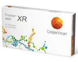 PROCLEAR TORIC XR 3pack - 72.90€ - Αστιγματικός μαλακός φακός επαφής για υψηλούς αστιγματισμούς έως -5.75. Κατασκευασμένος από βιομιμητικό υλικό  που ενδείκνυται για ξηροφθαλμία και δυσανεξία στους φακούς επαφής.