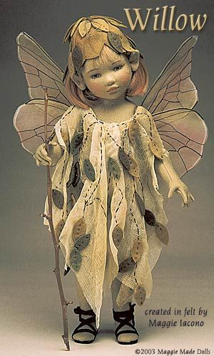Willow16.5 Inch Tall Felt DollEdition Size: 1Created in 2000