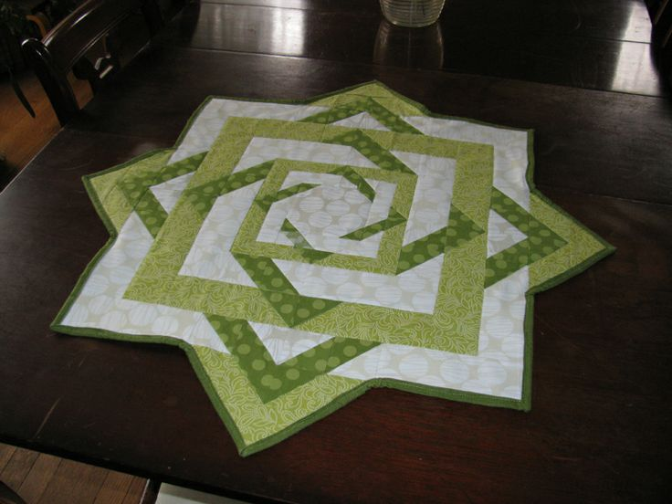 Twisted Star Table Topper Runner Pinterest Stitches