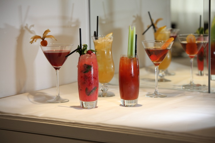 The top five refreshing classic and contemporary cocktails available at North Bridge Brasserie in Edinburgh.