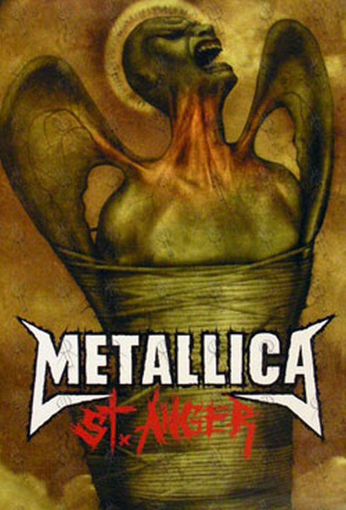 METALLICA-Double-Sided-St.-Anger-AlbumTour-Promo-Poster