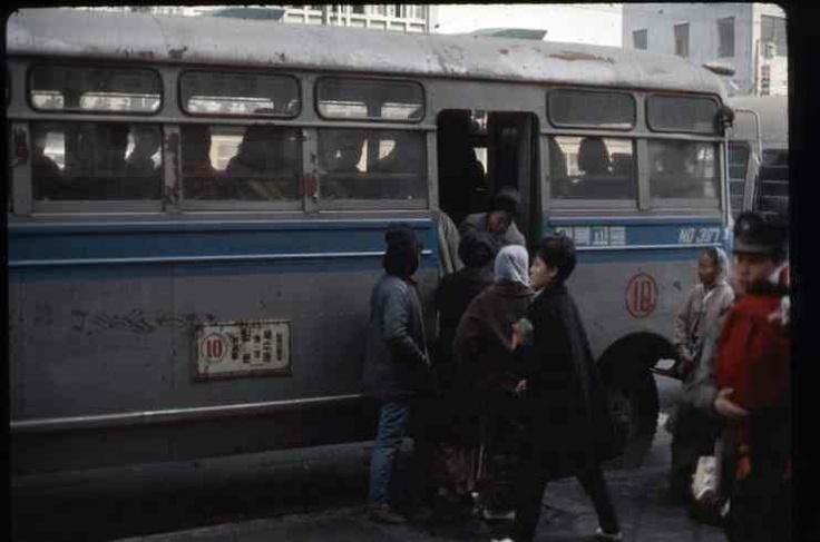 1966 Seoul Bus in Seoul, Korea.  1966년 서울 버스.