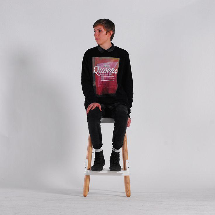 U4 bar stool by Ukrainian design bureau ODESD2. Designer: Roman Horoshilov.