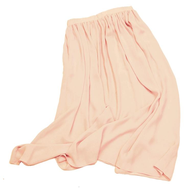 from my closet; #skirt #maxi #pink #chiffon