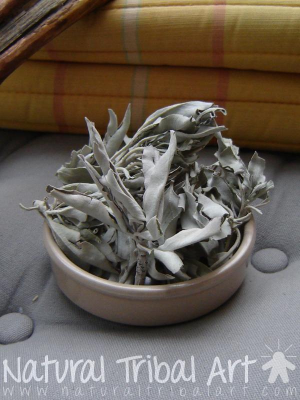 Feuilles sauge blanche 40 g (SB0003) Sauge blanche amérindienne - Natural Tribal Art