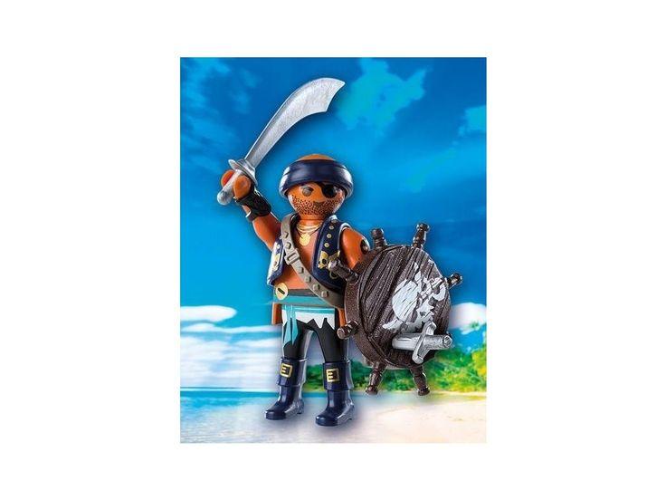 Playmobil 9075 Pirát . PLAYMOBIL jsou stavebnice pro děti různých věkových kategorií, které jsou tématicky zaměřené a mají mnoho propracovaných doplňků. Doporučený věk je 4 až 10 let. Stavebnice obsahuje 1 figurku.