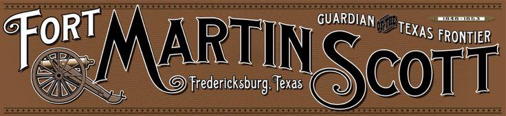 Fort martin scott historic site, fredericksburg tx