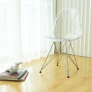 Shop for Mod Made Paris Tower Acrylic Dining Chair (Set of 2). Get free shipping at Overstock.com - Your Online Furniture Outlet Store! Get 5% in rewards with Club O! - 17151890