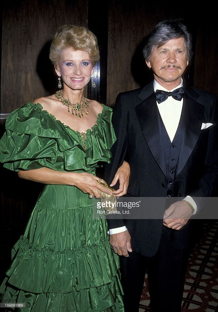 Photo d'actualité : Charles Bronson & Jill Ireland during Crystal...