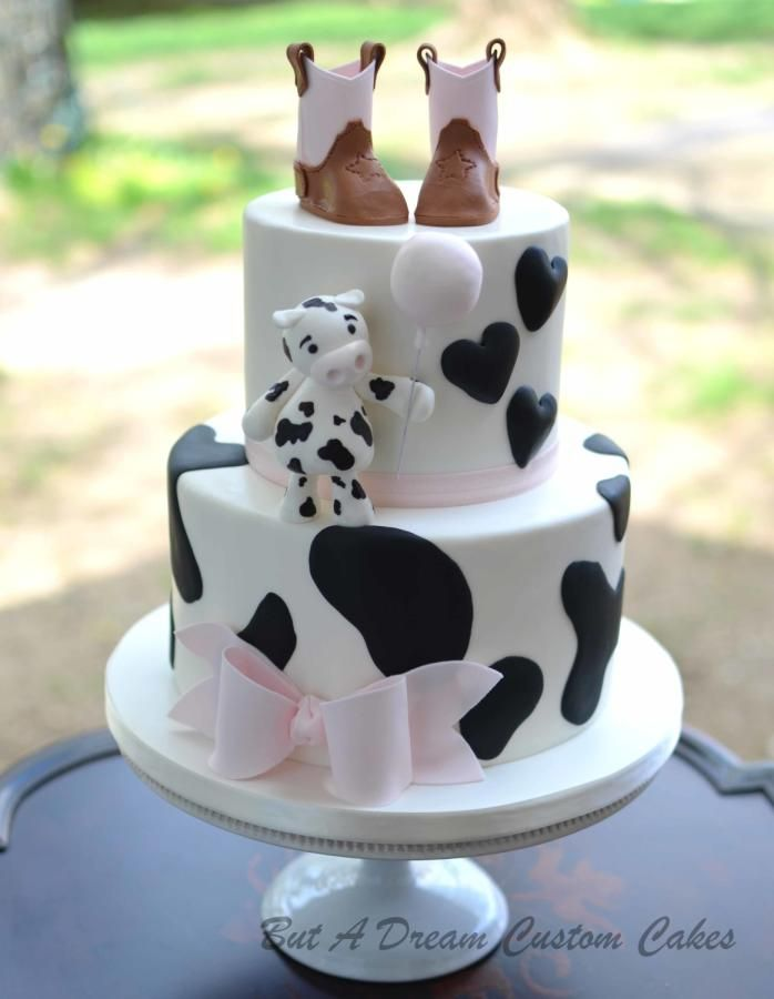 Cowgirl baby shower cake - Cake by Elisabeth Palatiello