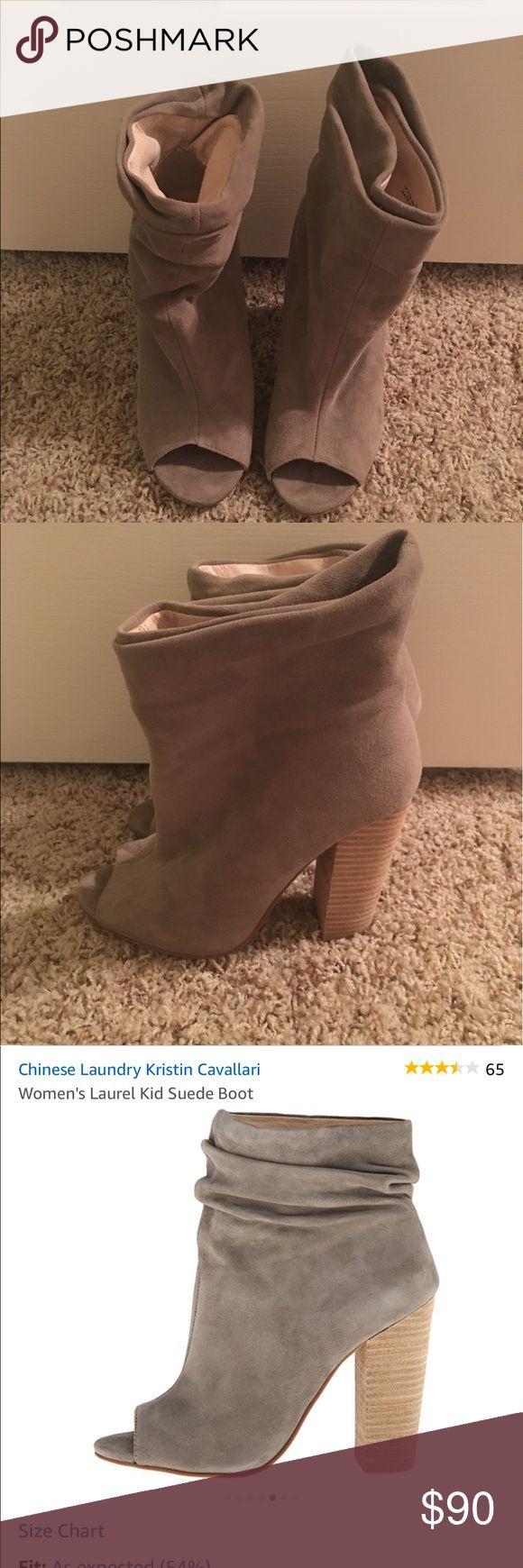 Chinese Laundry Kristin Cavalari booties Worn once Chinese Laundry Shoes Ankle Boots & Booties