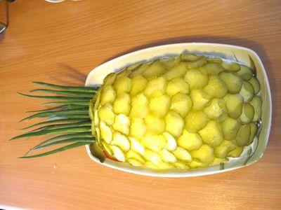 "Салат ""Ананас"" | Вкусные рецепты"