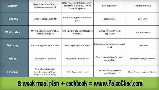 Ultimate Paleo Diet Meal Plan - 14 Day Meal Plan and Cookbook -  Paleolithic Diet