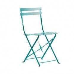 Botanical Chair - Sky Blue