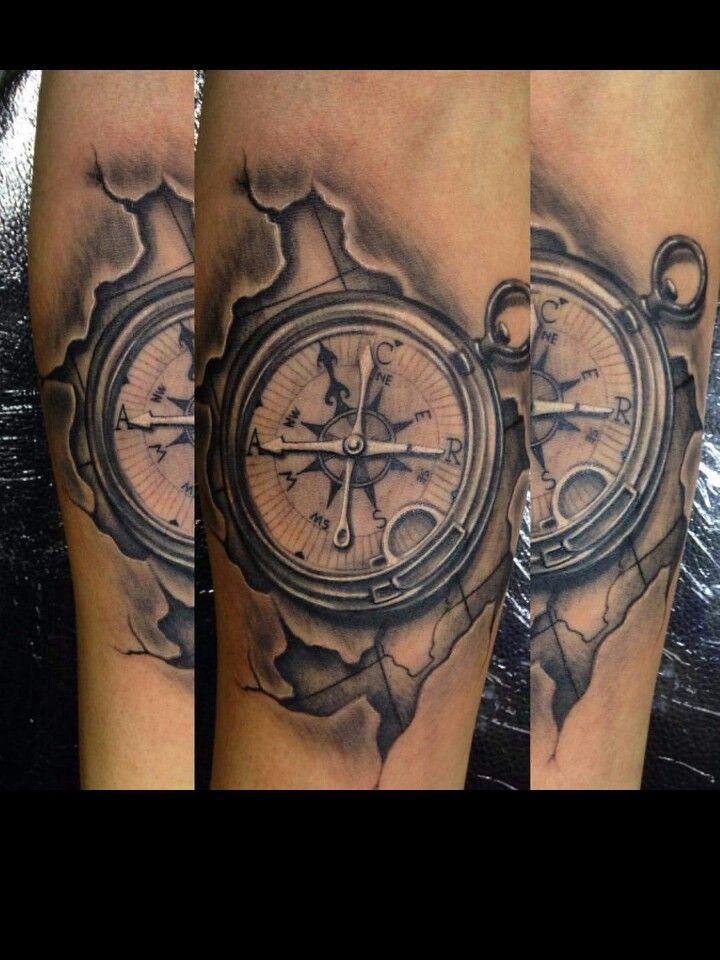 11 melhores imagens de tatuagens no pinterest ideias de for Tatoo bussola