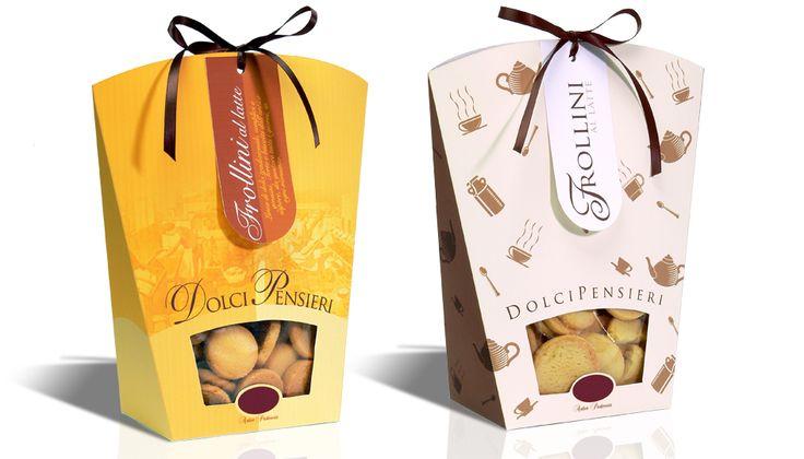 Dolci Pensieri - Abbigliaggio #design #food #packaging #cookies